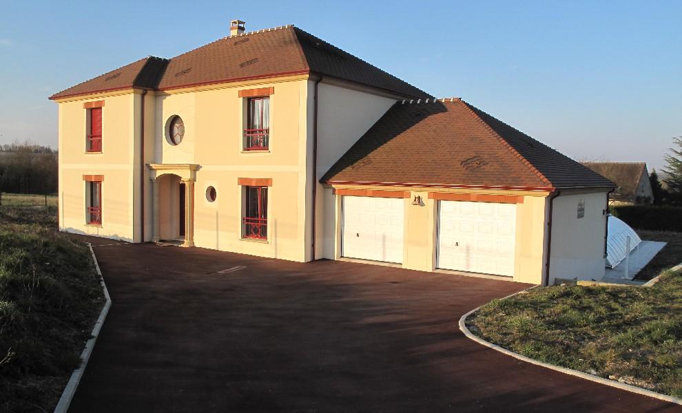 Photos constructeur maison seine et marne for Constructeur maison contemporaine 64